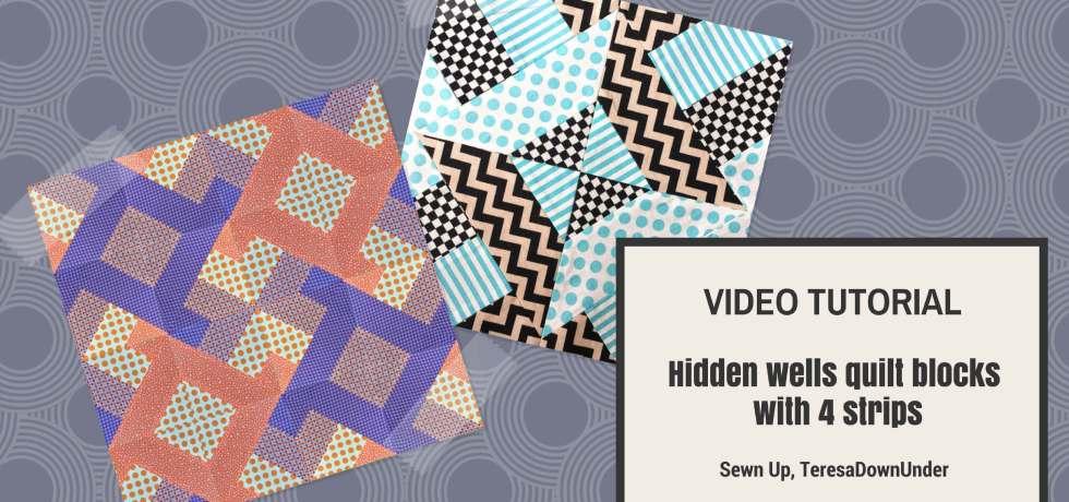 Video tutorial: Hidden Wells quit blocks with 4 strips