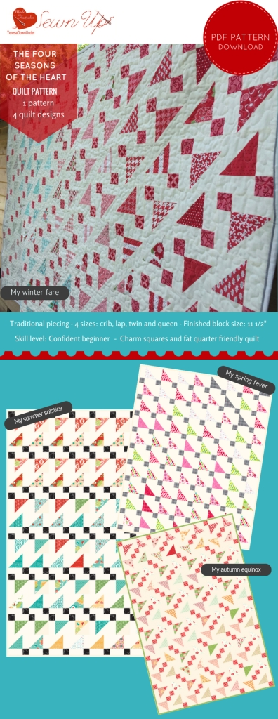 Quilt pattern: The four seasons of the heart