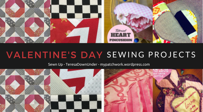 Free Valentine's Day sewing projects - quick and easy sewing