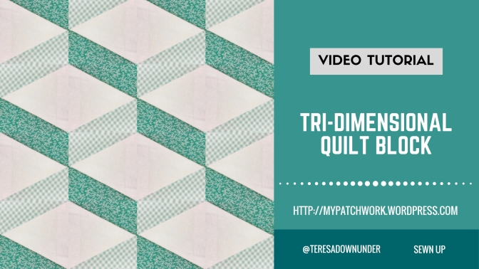 Video tutorial: Tri-dimensional quilt block
