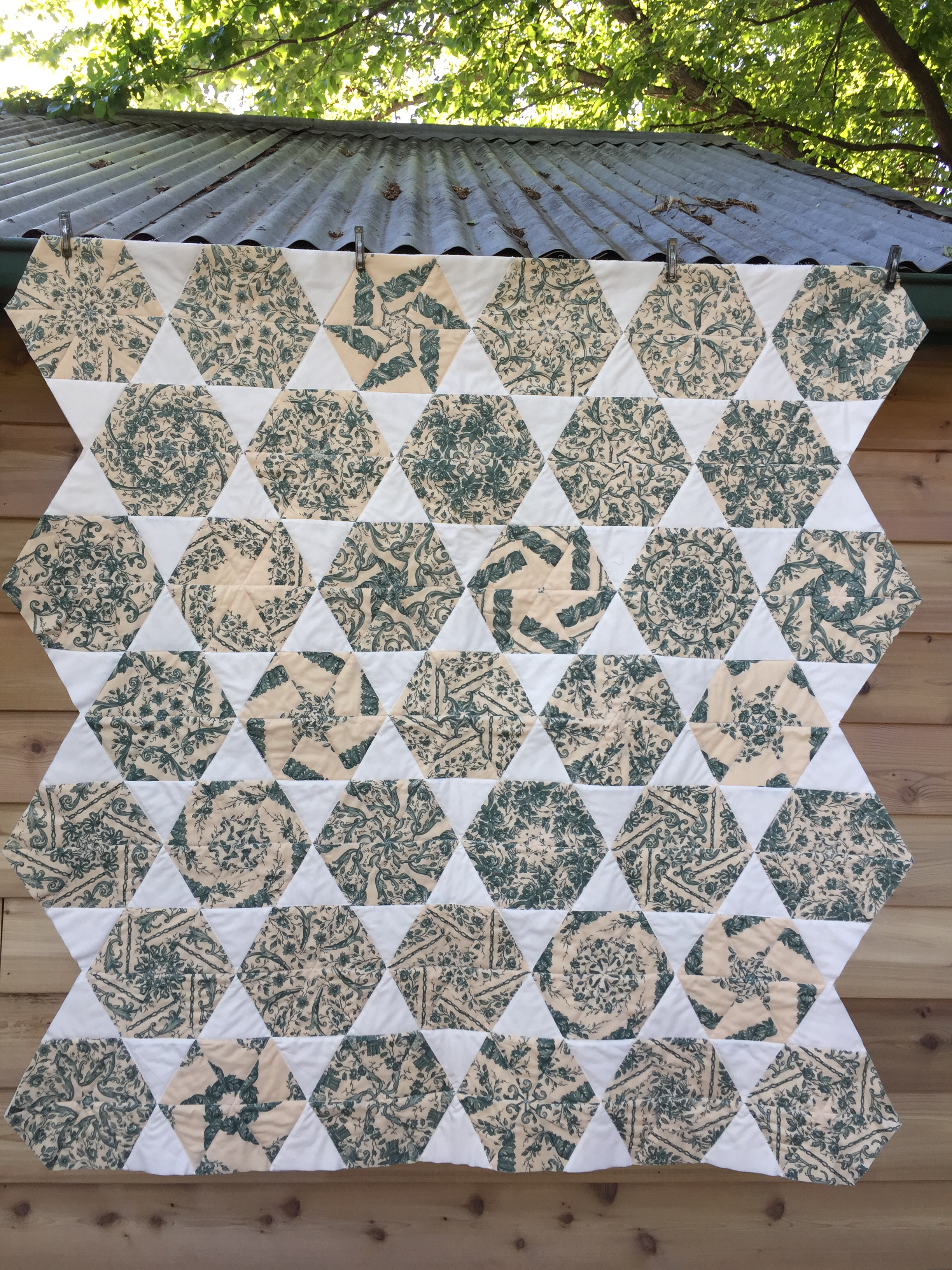 Kaleidoscope quilt – one block wonder | Sewn Up