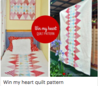 Win my heart quilt pattern