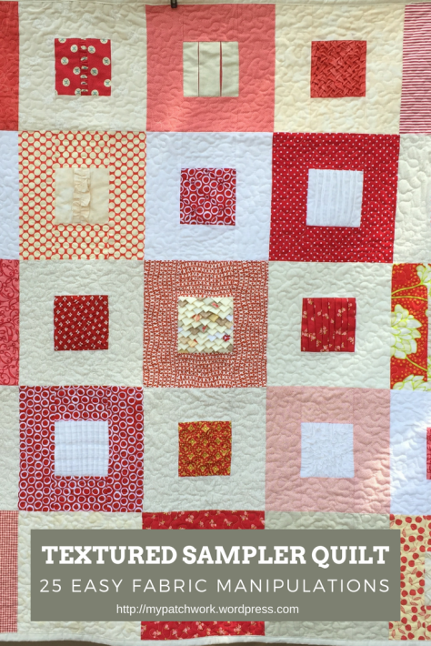 Textured quilt - 25 free tutorials