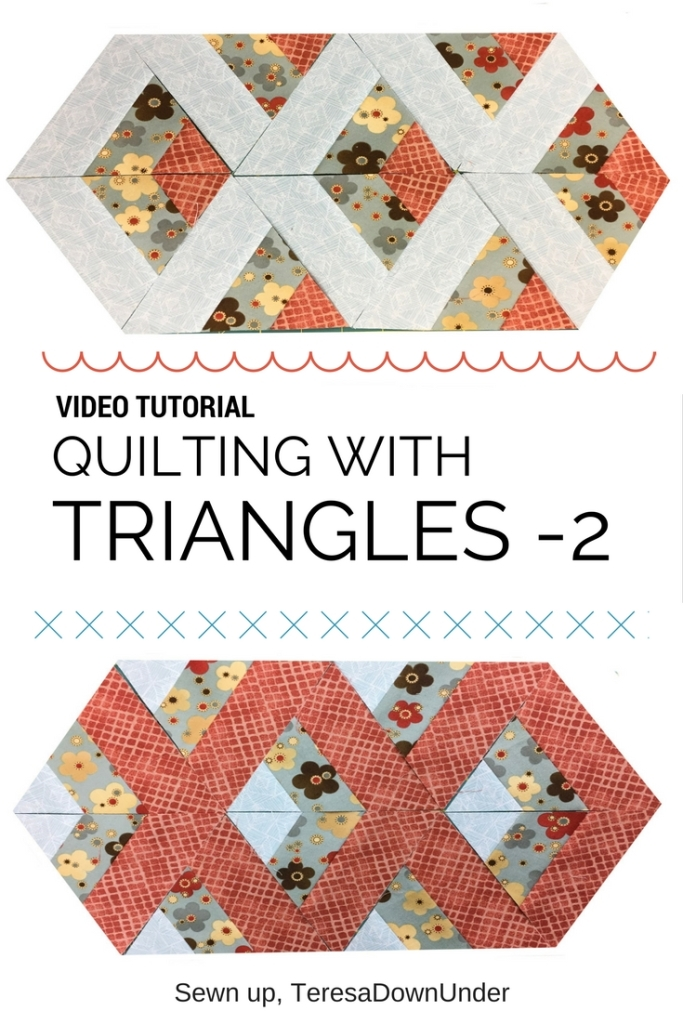 Video tutorial: Quilting with triangles 2