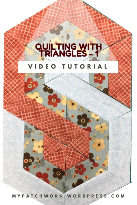 Video tutorial: quilting with triangles 1