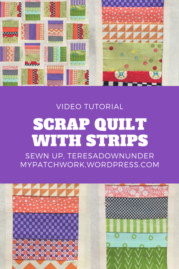 Video tutorial: Scrap quilt with strips
