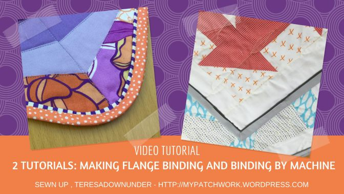 Video tutorial: Regular and flange machine binding