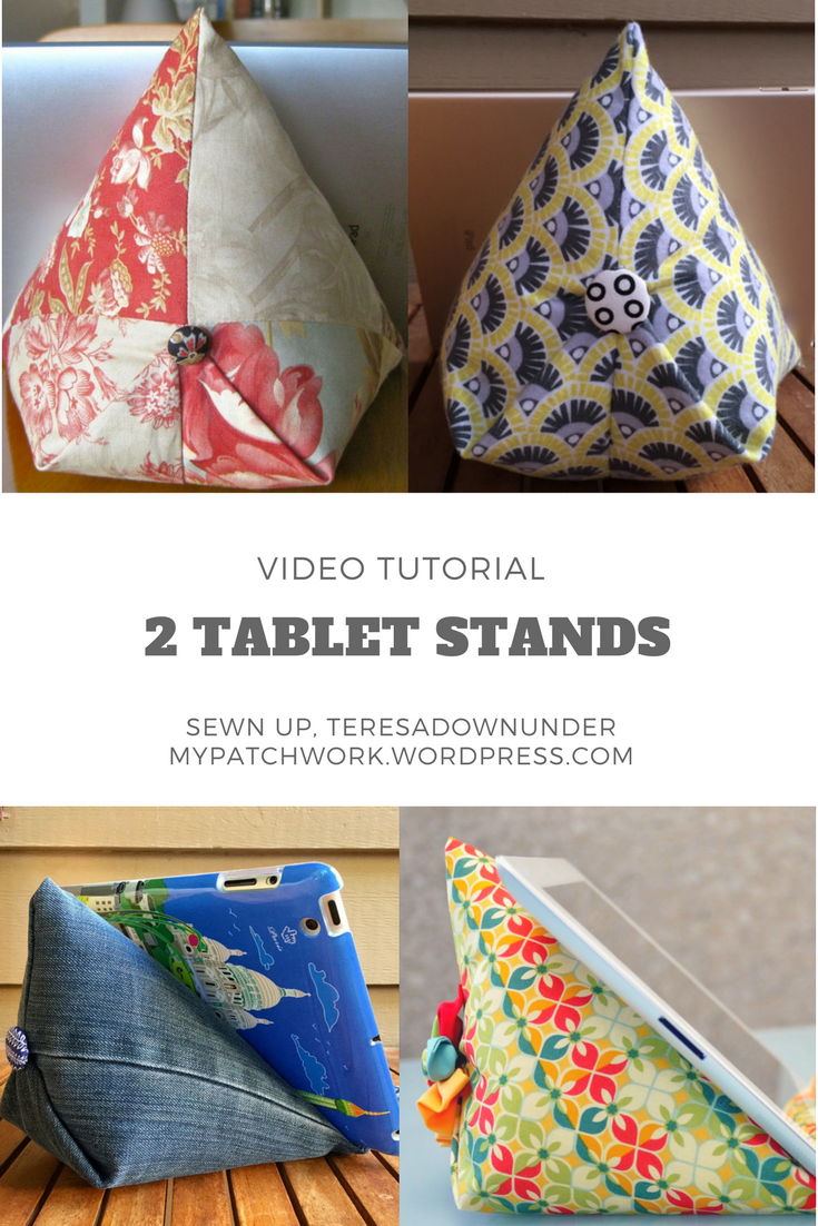 Video Tutorial Two 15 Minute Tablet Stands