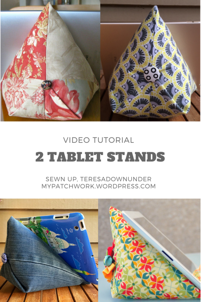 Video tutorial: two 15 minute tablet stands