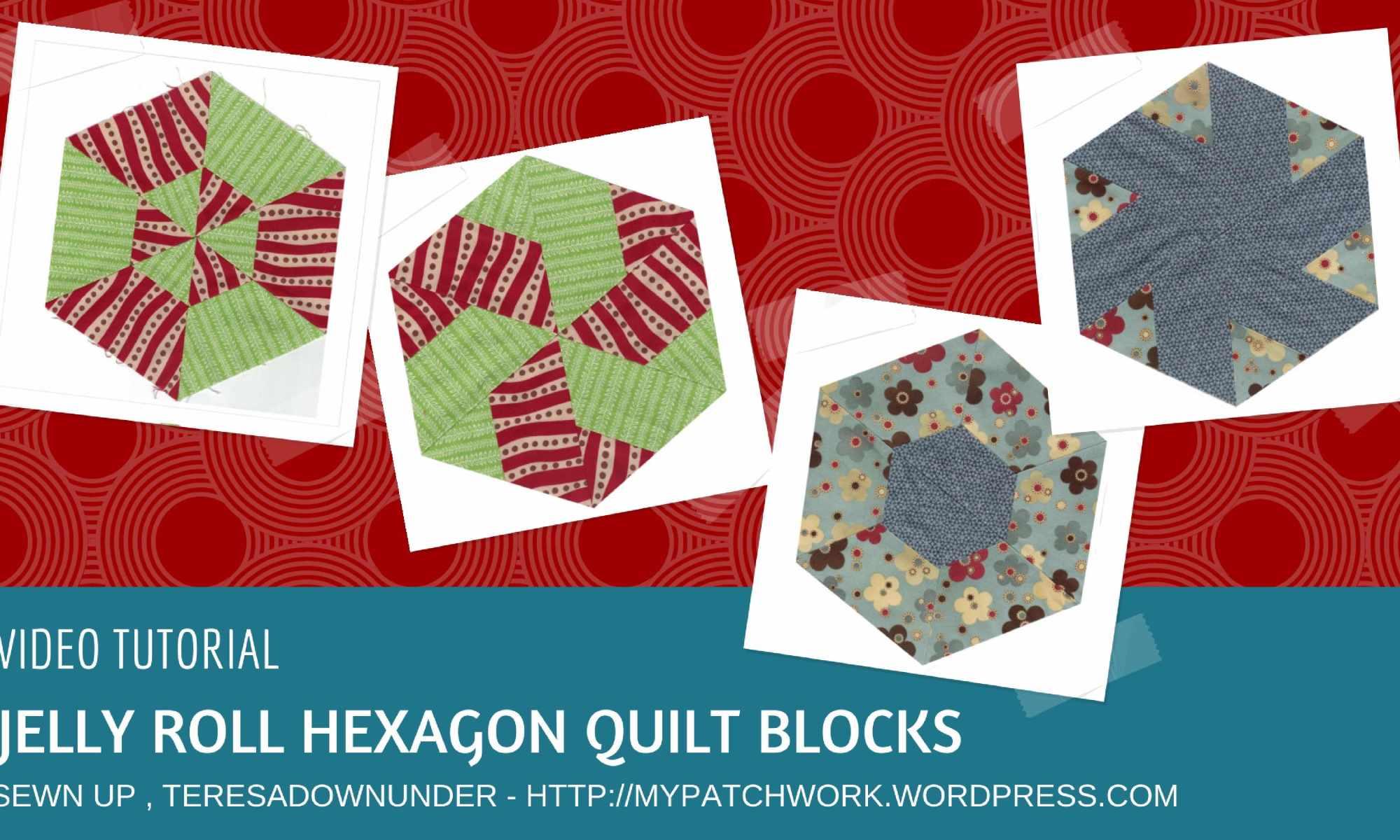 Video tutorial: jelly roll quilt blocks