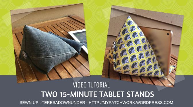 Video tutorial: make 2 tablet stands in 15 minutes