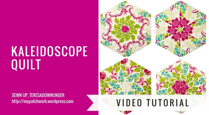 Video tutorial: Kaleidoscope quilt blocks - One block wonder or whack and stack