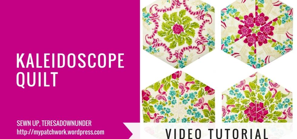 Video tutorial: Kaleidoscope quilt blocks - One block wonder or whack and stack