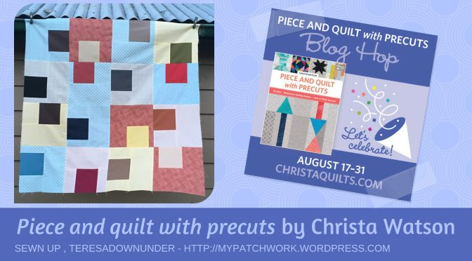 Blog Hop: Piece and Quilt with Precuts and a book giveaway