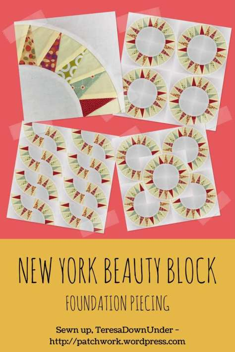 Video tutorial: New York beauty quilt block