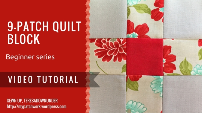 Video tutorial: 9-patch block – beginner's series