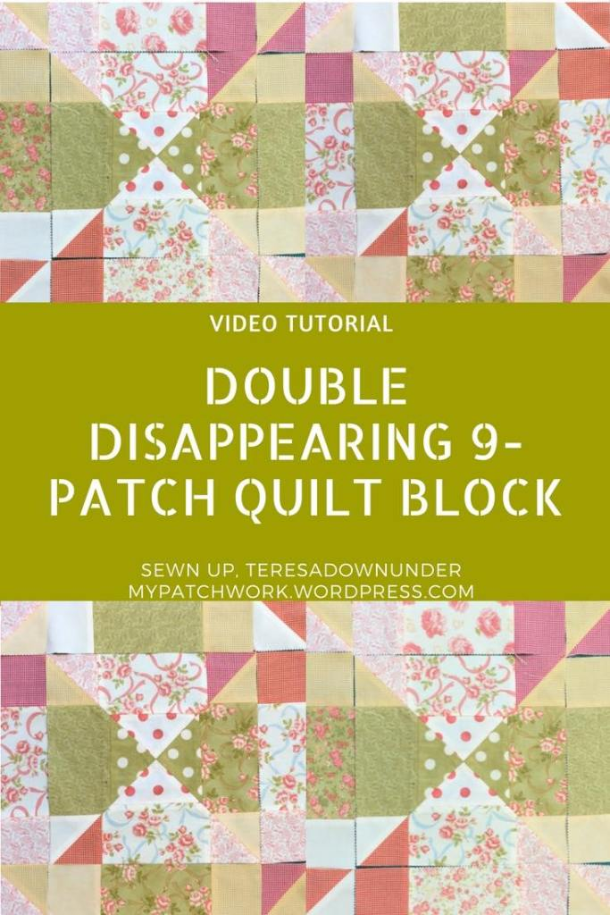 Video tutorial: double disappearing 9 patch
