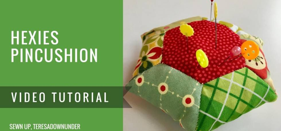 Video tutorial: Hexies pincushion - English Paper Piecing (EPP)