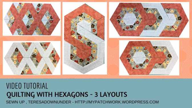 Video tutorial: Quilting with hexagons