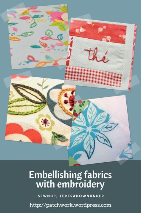 Video tutorial: Embellishing fabrics with embroidery