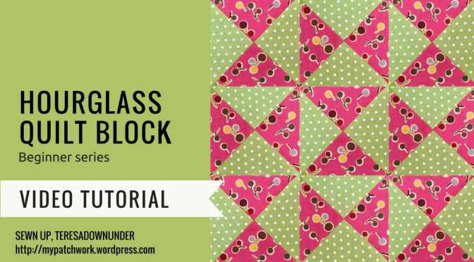 Video tutorial: hourglass block – beginner series