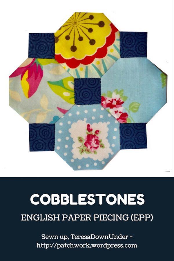 Video tutorial: Cobblestones English paper piecing (EPP) project