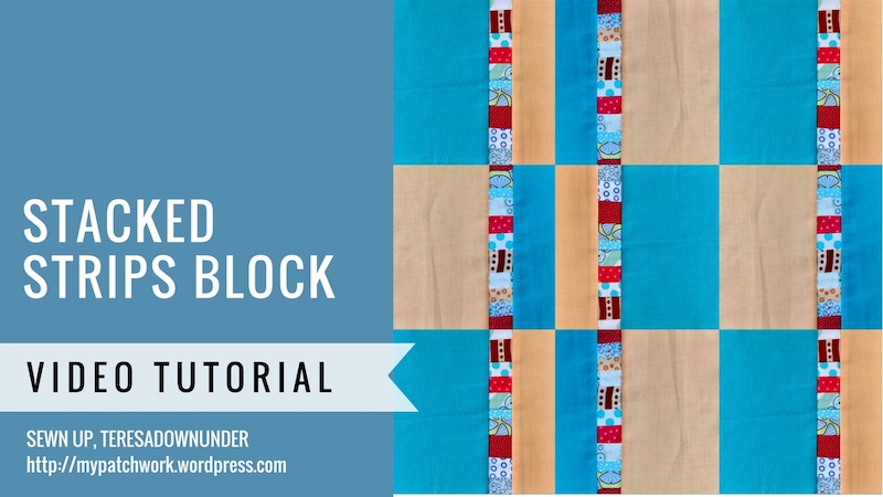 Stacked strips block video tutorial