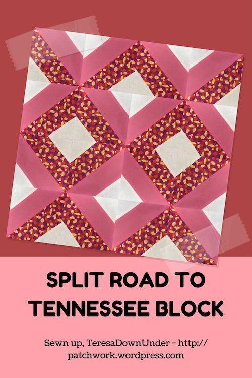 Split road to Tennessee block - video tutorial