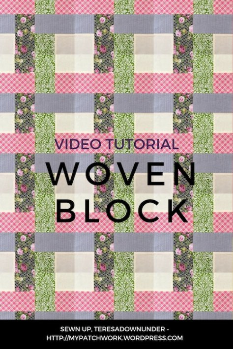 Woven block video tutorial