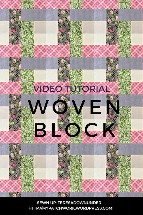 Woven block video tutorial