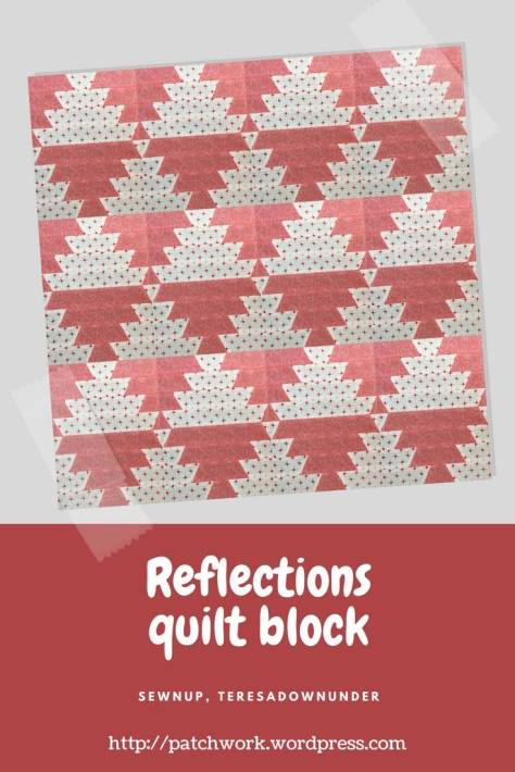 Video tutorial: Reflections quilt block