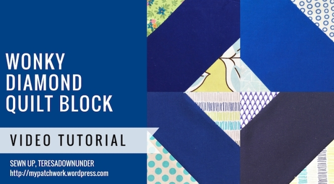 Wonky diamond block video tutorial