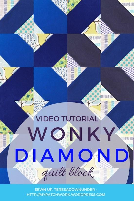 Wonky diamond block video tutorial