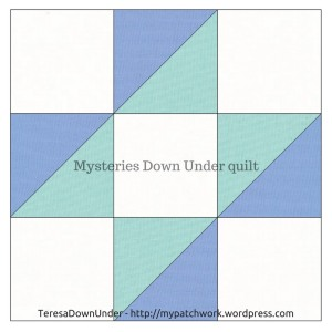 Contrary wife quilt block - Mysteries Down Under quilt - video tutorial