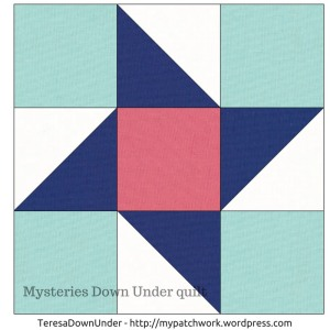 Friendship star quilt block - Mysteries Down Under quilt - video tutorial