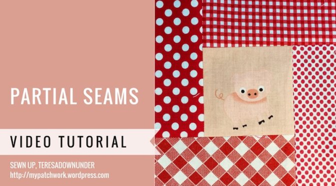 Video tutorial: partial seams technique