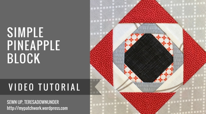 Video tutorial: Simple pineapple block