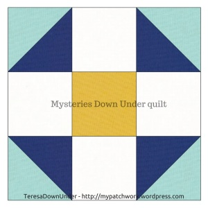 Shoofly quilt block - Mysteries Down Under quilt - video tutorial