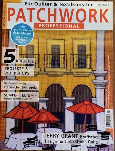 Patchwork Professional magazine contribution - Teresa Mairal Barreu