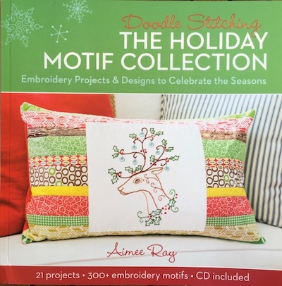 The holiday motif collection book contribution - Teresa Mairal Barreu