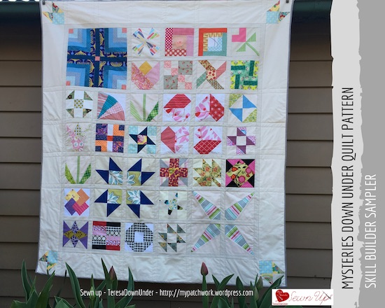 Mysteries Down Under Quilt pattern