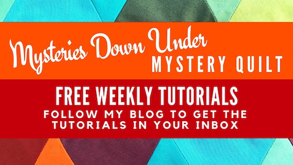Mysteries Down Under mystery quilt - free weekly tutorials