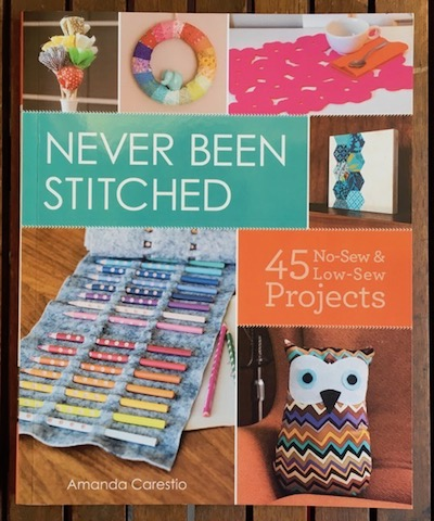 Never Been Stitched book contribution - Teresa Mairal Barreu