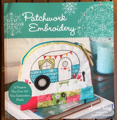 Patchwork Embroidery book contribution - Teresa Mairal Barreu