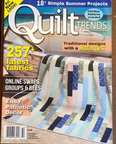 Quilt trends magazine contribution - contribution - Teresa Mairal Barreu