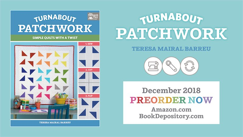 Preorder Turaabout patchwork by Teresa Mairal Barreu - TeresaDownUnder