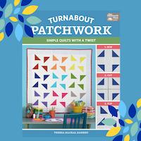 Turnabout patchwork book by Teresa Mairal Barreu aka TeresaDownUnder