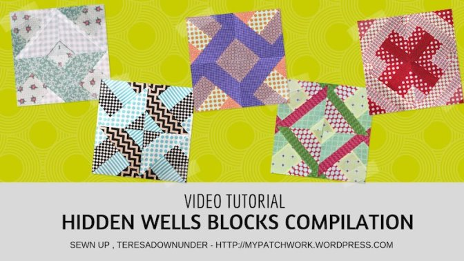 Video tutorial: Hidden wells technique – two blocks with 3, 4, 5, and 7 strips