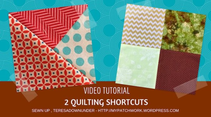 2 quilting shortcuts you didn't know about video tutorial