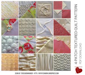 Textured quilt pattern
